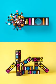Allsorts packaging by Bond