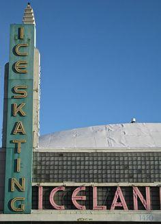 Iceland Skating Rink - 1430 Del Paso Blvd, Sacramento, CA (built 1940)
