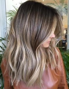 50 Ideas for Light Brown Hair with Highlights and Lowlights Mid-Shaft-To-Ends A… 50 Ideen für hellbraunes Haar mit Highlights und Lowlights Mid-Shaft-To-Ends Ash Blonde Balayage [. Brown Hair With Ash Blonde Highlights, Long Brown Hair, Color Highlights, Brunette Highlights, Balayage Highlights, Ash Balayage, Red Blonde, Golden Highlights, Chunky Highlights