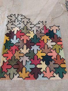 Monogram Cross Stitch, Mini Cross Stitch, Cross Stitch Flowers, Embroidery Motifs, Embroidery Hoop Art, Cross Stitch Embroidery, Needlepoint Pillows, Needlepoint Patterns, Cross Stitch Designs