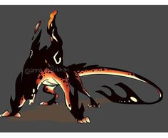 Common creatures found only in volcanic regions. They travel in packs of five with no c& & The post Magma Hound. Common creatures found only in volcanic regions. They travel in packs of five with no c& appeared first on Action Manga - Anime. Monster Concept Art, Fantasy Monster, Monster Art, Mythical Creatures Art, Alien Creatures, Magical Creatures, Creature Concept Art, Creature Design, Fantasy Character Design