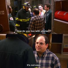 Check out the latest and funniest quotes of Seinfeld. Get ready for lolworthy gifs! Tv Show Quotes, Movie Quotes, Top Gear, Golden Girls, South Park, Best Tv Shows, Movies And Tv Shows, Seinfeld Quotes, George Costanza