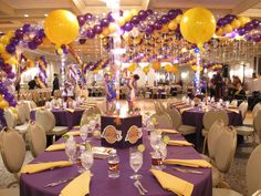 Lakers Themed Party