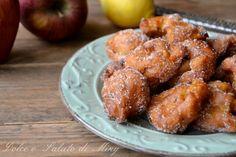 Frittelle di mele, facili da preparare, ideali durante il carnevale e non solo.