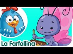 Lil Butterfly - Lottie Dottie Chicken - Kids songs and nursery rhymes in english Nursery Rhymes In English, Kids Nursery Rhymes, Rhymes For Kids, Funny Songs For Kids, Kids Songs, Chicken Song, Lottie Dottie, Canti, Song Playlist