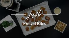 Pretzel Bites - Just Recipes