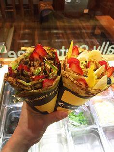T-swirl crêpe - Flushing, NY, United States. I love it tswirlcrepe Japanese style crepe