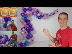 balloon arch - Organic Arch and Garland - gustavo gg Balloon Arch Diy, Balloon Columns, Balloon Garland, Balloon Decorations, Birthday Party Decorations, Deco Ballon, Baby Decor, Holidays And Events, Baby Boy Shower