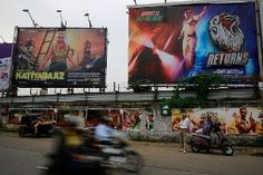Indie films have to compete with star-studded Bollywood blockbusters with big marketing budgets (Keystone)