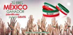 ¡Identifícate! ¡Tú eres México ganador!