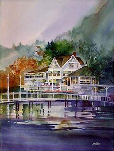 """Roche Harbor Retreat"" - by John Ebner"