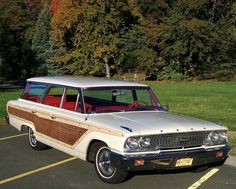 63 Ford Country Squire Station Wagon