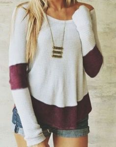 adorable sweater. i love the colors