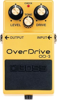 Boss OD-3 Overdrive Guitar Effects Pedal