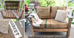 Upgrade your patio or balcony with those awesome wooden furniture.