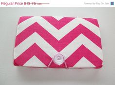 SALE  Coupon Organizer / holder /  keeper   Hot Pink by Laa766, $13.00  Coupon clipping/ fabric/ holders/ inserts/ patterned