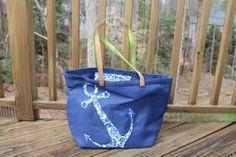 Peach Roots - Anchor Beach Bag, $26.50 (http://peachroots.com/anchor-beach-bag/)