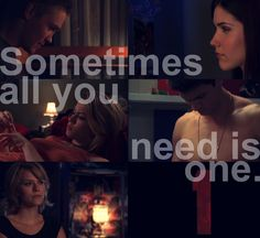 Sometimes all you need is one.