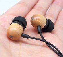 DIY de madeira maciça Pura cavidade Em fones de Ouvido Fone de Ouvido Fones de Ouvido fone de Ouvido de ALTA FIDELIDADE Fones de Ouvido Baixo Pesado Frete Grátis(China (Mainland))