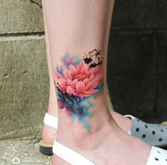 These Watercolor Tattoos Are *Literally* Art on Your Body