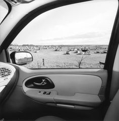 Lee Friedlander, Arizona, 2007, from the series America by Car, 1995-2009. Gelatin silver print, 15 × 15 in. (38.1 × 38.1 cm). Collection of the artist; courtesy Fraenkel Gallery, San Francisco © Lee Friedlander, courtesy Fraenkel Gallery, San Francisco