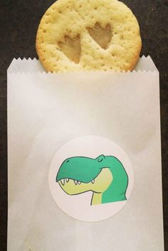 Dinosaur Birthday Party cookies!  See more party planning ideas at CatchMyParty.com!