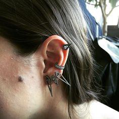 Eva Fehren's ear = On Spleek - Man Repeller