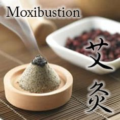 Moxibustion (艾灸 – pronounced Ai Jiu) is a traditional therapy that involves the burning of a small bundle of tightly bound herbs, or moxa, to targeted acupoints of the body. The heat generated during moxibustion helps increase the flow of essential energy or Qi (气) throughout the body via the meridians. In traditional Chinese medical theory, stimulating the flow of Qi is essential to achieving health and wellness.