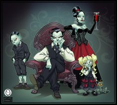 Bloody Family - Final artwork by MabaProduct.deviantart.com on @deviantART