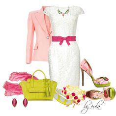 White Dresses by eula-eldridge-tolliver on Polyvore