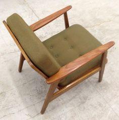 New York: Danish Made Solid Teak Arm Lounge Chair $800 - http://furnishlyst.com/listings/151429