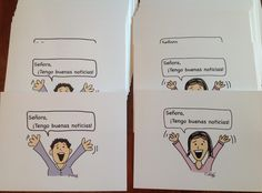 Teaching Spanish w/ Comprehensible Input: Post Cards for Seniors - What a great idea!