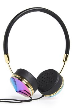 The Best Gifts We Found At The Mall — Under $150 #refinery29  http://www.refinery29.com/mall-gifts#slide15  Nordstrom This season, give the gift of cool: These iridescent Frends headphones instantly add flair.