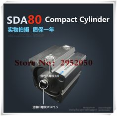 49.44$  Watch here - http://ali3fm.shopchina.info/1/go.php?t=32798782366 - SDA80*10-S Free shipping 80mm Bore 10mm Stroke Compact Air Cylinders SDA80X10-S Dual Action Air Pneumatic Cylinder  #buyininternet