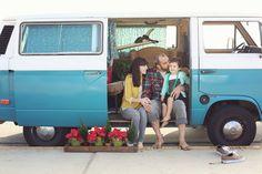 VW Bus Family Photo