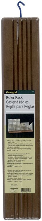 Omnigrid Wooden Ruler Rack 20inX4inX3/4in from Quilting-Warehouse