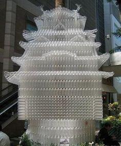 Just Hot Pics: Amazing Plastic Bottle Sculptures