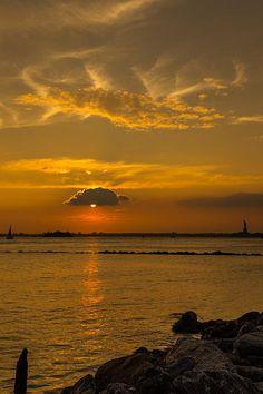 Sunset by Charles A LaMatto
