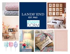"""Design Your Dream Dorm with Lands' End: Contest Entry"" by arifahlatuconsina ❤ liked on Polyvore"