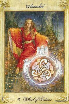 Wheel of Fortune, Llewellyn Tarot