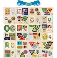Vintage Labels Stickers