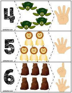 Teach counting skills with these awesome zoo animals. Great for teaching counting skills and number recognition for Quick prep and great for math centers! Numbers Preschool, Preschool Curriculum, Math Numbers, Teaching Kindergarten, Preschool Activities, Autism Activities, Educational Activities, Down Syndrom, Flashcards For Kids