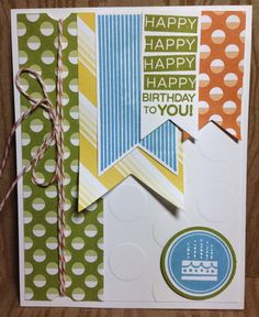 Klompen Stampers (Stampin' Up! Demonstrator Jackie Bolhuis): Amazing Birthday Cards