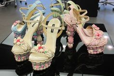 Dolce and Gabbana AW12 Maire Antoinette shoes
