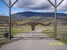 Galleries - Around The Ranch - Front Gate