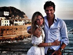 Love is in the air: Olivia posted a photo of her and her husband vacationing in Ischia, It...