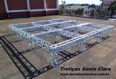 Estrutura para feiras e Eventos. #Palcocoberto #TreliçasGalvanizadas #Fone 55 - 3538 1423 # Whats 55- 9 9626 6090 E-Mail: vendas@metalsantaclara.com.br