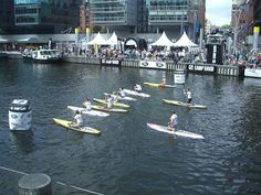 Stand Up Paddling - what a wonderful event