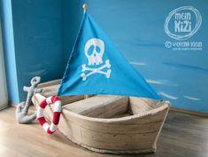 Spielboot / Schiff für kleine Piraten von mein kizi auf DaWanda.com