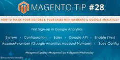 How to track your visitors & your sales with #Magento & #GoogleAnalytics?  #MagentoTipsDay   #MagentoTutorial   #MagentoWednesday
